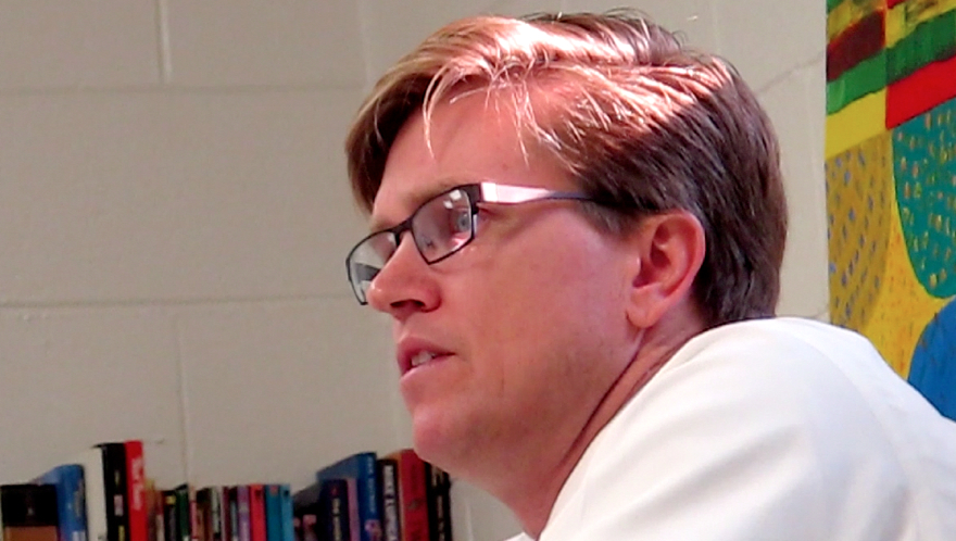 Edwin Peacock, GOP candidate for Charlotte mayor.