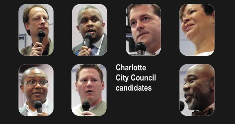 Charlotte City Council At Large Democratic Candidates