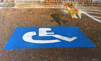 """Handicapped Parking"" by Tommie Robinson"
