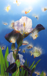 """""""Home in an Iris"""" by Tommie Robinson"""