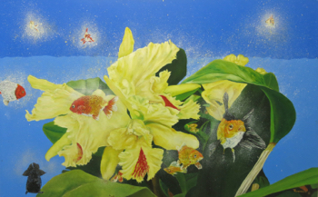 """""""Living in a Yellow Orchid"""" by Tommie Robinson"""