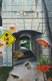 """""""5th Street Tunne"""" by Tommie Robinson"""