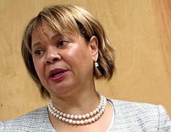Charlotte City Council member Vi Lyles